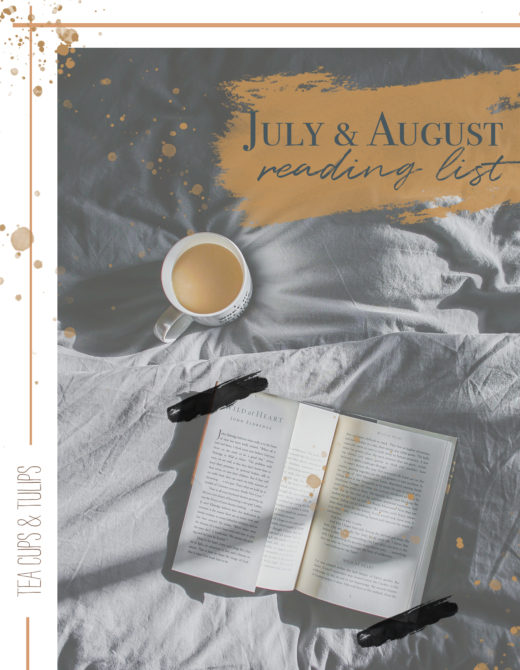 July and August reading list